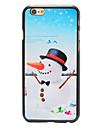 Рождество в стиле морковь нос снеговика шаблон шт трудно задняя крышка для Iphone 6
