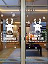 Животное Современный Стикер на окна, ПВХ/винил материал окно Украшение Столовая Спальня Офис Детская Для гостиной Ванная комната Магазин