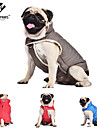 Dog Coat / Vest Red / Blue / Gray Dog Clothes Winter / Spring/Fall Solid Keep Warm / Windproof