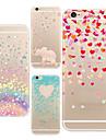 용 아이폰6케이스 / 아이폰6플러스 케이스 울트라 씬 / 투명 / 패턴 케이스 뒷면 커버 케이스 카툰 소프트 TPU iPhone 6s Plus/6 Plus / iPhone 6s/6