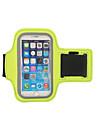 HAISKY Fascia da braccio Bag Cell Phone per Corse Ciclismo / Bicicletta Corsa Borse per sport Schermo touch Indossabile Telefono / Iphone Marsupio da corsa iPhone 8/7/6S/6 iPhone X iPhone XR Terylene