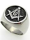 Masonic Member 316L Stainless Steel Honer Rings Band Rings 1pc