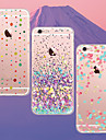 For iPhone 5 Case Case Cover Ultra-thin Transparent Pattern Back Cover Case Tile Soft TPU for iPhone 7 Plus iPhone 7 iPhone SE/5s iPhone 5