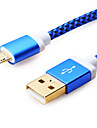 Micro USB Cable Data Sync Charging Cable For Samsung Huawei Xiaomi LG Andriod Mobile Phone