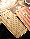 Diamond Plating Mirror Back with Metal Frame Phone Case for iPhone 6s 6 Plus