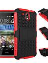 Capinha Para HTC Capinha HTC Antichoque Com Suporte Capa traseira Armadura Rigida PC para