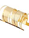 Damskie Długie Bransoletki cuff - Nieskończoność damska, Artystyczny, List, Moda, Boho Bransoletki Biżuteria Srebrny / Złota Na Impreza Rocznica Urodziny Codzienny