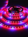 MORSEN® Full Spectrum  Led Grow Light  300Leds Led Strip Lamps for Plants Growing Non Waterproof Aquarium Lighting