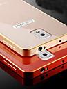 Для Samsung Galaxy Note Покрытие Кейс для Задняя крышка Кейс для Один цвет Металл Samsung Note 4 / Note 3