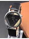 Муж. Модные часы Кварцевый PU Группа Черный Белый