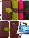 Case For Samsung Galaxy Samsung Galaxy Case Card Holder Wallet with Stand Flip Full Body Cases Solid Color PU Leather for Young 2 On 7 On