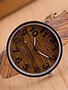 Женские Модные часы Часы Дерево Кварцевый Кожа Группа Разноцветный