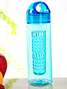 550ml copas deportivas limon taza tetera vasos de plastico portatil a prueba de fugas al aire libre y anti escalda la taza del espacio