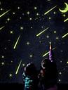 Romantika Samolepky na zeď Světelné samolepky na zeď Ozdobné samolepky na zeď, Vinyl Home dekorace Lepicí obraz na stěnu Okenní