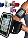 Case For Universal iPhone 4/4S with Windows Armband Armband Solid Color Soft Textile for