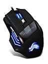 filaire USB souris de jeu 6 LED de la touche souris de jeux pour gamer optique