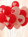 10PCS Hearts Round Shape Wedding Birthday Party Decoration Home Decor Festival