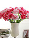 Artificial Flowers 1 Branch Simple Style Carnation Tabletop Flower