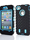 Etui Til iPhone 4/4S Apple Fuldt etui Blødt Silikone for iPhone 4s/4