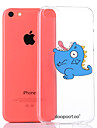 dpt® Dinosaur Pattern TPU Soft Back Cover for iPhone 5C