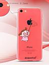 dpt® узор девушка бабочка ТПУ Мягкий заднюю крышку для iPhone 5с