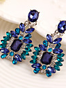 Women\'s Drop Earrings Luxury Synthetic Gemstones Cubic Zirconia Alloy Jewelry Costume Jewelry