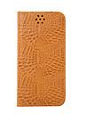 Coque Pour Samsung Galaxy S7 edge S7 Porte Carte Portefeuille Avec Support Clapet Coque Integrale Couleur unie Dur Cuir PU pour S7 edge