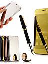 couro aleta tela espelho retrovisor do caso inteligente para Huawei g7plus / G8 / d199 / maimang 4 (cores sortidas)