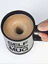Self Stirring Coffee Mug Automatic Stir Cup Tea Office Funny Gift Mixing Drinks