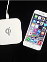 Q1 padrao novo q8 carregador sem fio para samsung s8 s8 plus s76 ou outro built-in qi receptor telefone inteligente