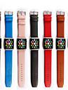 Pulseiras de Relogio para Apple Watch Series 3 / 2 / 1 Apple Fecho Classico Couro Legitimo Tira de Pulso
