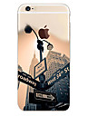 For iPhone 6 Case iPhone 6 Plus Case Translucent Pattern Case Back Cover Case City View Soft TPU foriPhone 6s Plus iPhone 6 Plus iPhone