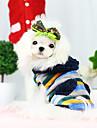 Собака Плащи Одежда для собак Дышащий Мода Синий Хаки Костюм Для домашних животных