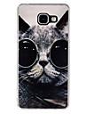 Cat eyes Pattern TPU Soft Case for Galaxy A3(2016)/Galaxy A5(2016)