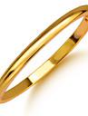 Муж. Женский Браслет цельное кольцо Позолота Бижутерия Назначение Свадьба Для вечеринок Повседневные Спорт
