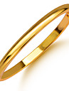 Homens Feminino Bracelete Chapeado Dourado Joias Para Casamento Festa Diario Casual Esportes
