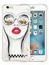 For iPhone 6 Case / iPhone 6 Plus Case Shockproof / Pattern Case Back Cover Case Sexy Lady Soft SiliconeiPhone 6s Plus/6 Plus / iPhone
