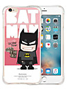 For iPhone 6 Case / iPhone 6 Plus Case Shockproof / Pattern Case Back Cover Case Cartoon Soft Silicone iPhone 6s Plus/6 Plus / iPhone 6s/6