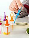 6 sztuk tańczące dziewczyny owoców widelec kreatywne narzędzia do gotowania dekoracji domu