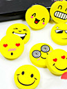 4PCS Cartoon Smile Face Rubber Eraser Art School Supplies Office Stationery Novelty Pencil Tool Set Kids(Style Random)