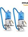 2 pcs Gmy 55w 1450 ± 15% lm 3800K halogene h3 eclairage de la voiture 12v bleu