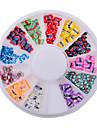 러블리-핑거-네일 쥬얼리-아크릴-1wheel butterfly fimo nail decorations-6cm wheel