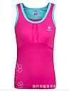 Per donna Viola Rosso rosa Blu Gli sport Curva Elastene Canotte Top Yoga Pilates Esercizi di fitness Senza maniche Abbigliamento sportivo Traspirante Morbido Elasticizzato