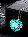 Women\'s Love Fashion Hollow Illuminated Pendant Necklace Alloy Pendant Necklace , Wedding Party Daily Casual