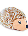 Plush Toy Squeak / Squeaking Hedgehog Hedgehog Textile For Cat Dog
