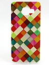 For Samsung Galaxy Case Pattern Case Back Cover Case Geometric Pattern TPU Samsung A5(2016) / A3(2016)
