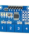 kapazitive Touch-Switch-Modul digital ttp224 4-Wege-Touch-Sensor fuer Arduino