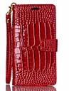 Capinha Para Sony Sony Xperia M5 Capinha Sony Porta-Cartao Carteira Com Suporte Flip Com Relevo Capa Protecao Completa Cor Solida Rigida