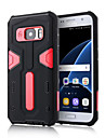 For Samsung Galaxy S7 Edge Shockproof / with Stand Case Back Cover Case Armor PC SamsungS7 edge / S7 / S6 edge plus / S6 edge / S6 / S5 /
