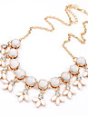 Women\'s Statement Necklace Statement Vintage Fashion White Necklace Jewelry For Wedding Party Daily Casual Work